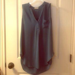 Small light blue blouse